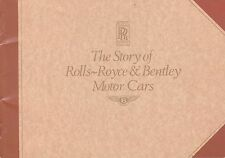 The Story Of Rolls-Royce & Bentley Motor Cars Booklet  (Stapled Soft Cover)