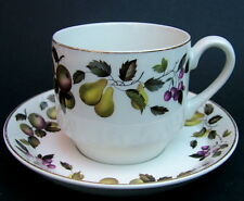 Vintage 1960's Midwinter Evesham Pattern Tea Cups & Saucers Look in VGC