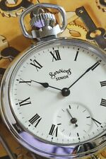 1972 Smiths Pocket Watch with Rare Services 'Senior' Dial