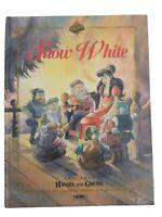 Snow White Book Includes Hansel and Gretel Story Tormont 1995 Zapp Carol Krenz