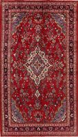 Floral Traditional Hand-Knotted Area Rug Wool Living Room Oriental Carpet 7x12