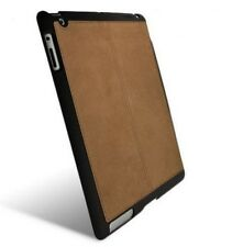 Genuine Krusell Apple iPad 2 3 4 Hard Back Smart Case With Suede Cover Pad