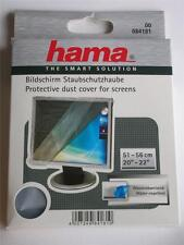 "HAMA WIDE SCREEN MONITOR TV DUST COVER 20""-22"" 51-56CM TRANSLUCENT 113816"