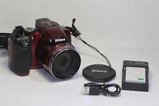 Nikon COOLPIX P510 16.1MP Digital Camera Red