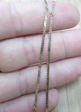 "14KT Solid Yellow Gold Chain Necklace ~ 20"" ~ 3.5grams ~ 6-H6227"