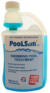 PoolSan CS 250mL Multifunction Algicide, Flocculent, water conditioner
