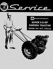 David Bradley Super 5.6 HP  Service Manual  917.575112