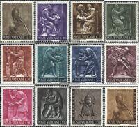 Vatikanstaat 490-501 (kompl.Ausg.) postfrisch 1966 Arbeit des Menschen
