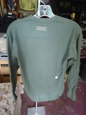 New  x-small XGO  Acclimate dry long green shirt, base layer,  Army / USMC