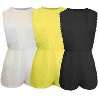 Womens Holiday Mini Playsuit Ladies Jumpsuit Summer Beach Dress Shorts UK Stock