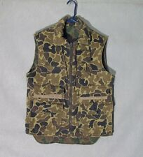 Z8119 Men's Reversible Camouflage Full Zip Vest-No tag size