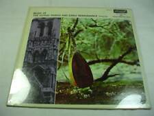Music Of The Gothic Period & Early Renaissance Volume One - Sealed New