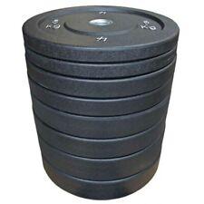 Set Dischi Palestra Bumper Plate Bodybuilding, Powerlifting, Weightlifting 150KG