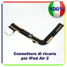 CONNETTORE RICARICA CARICA micro usb FLEX per iPad Air 2 BIANCO