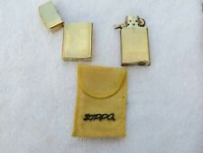 VERY RARE 1950s Pat 2517191 ZIPPO LIGHTER 10 K GOLD FILLED NEVER FIRED 10K BLANK