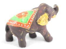 Vintage Ceramic India Elephant Figurine