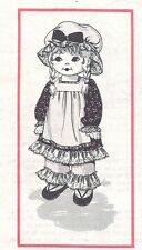 Vintage Beautiful Soft Doll & Clothing Bonnet Hat Sewing Pattern UNCUT 25 Inch