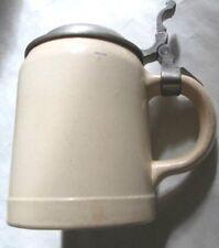 Tankard Boccale da birra,ceramica Villeroy & Boch del 1900 da collezione,0,5 lt.
