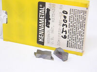 New Surplus 10pcs. Kennametal NG 3047L Grade: K68 Carbide Inserts