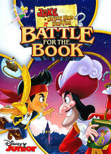 Jake and the Never Land Pirates: Battle for the Book! (DVD, 2015) brand new