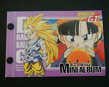 Dragon Ball GT Carddass Mini Album Binder