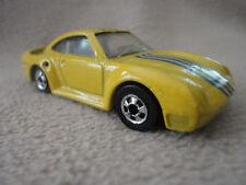 Mattel Malaysia 1987 Hot Wheel Toy Car Die-cast Sports Car Vintage