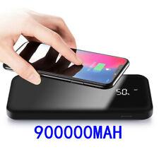 Qi Wireless Power Bank 900000mAh Backup Portable Charger External Battery Backup