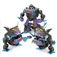 New Transformers Sharkticon 3 IN 1 MF-26 Action Figure MFT Pocket In Stock Toys