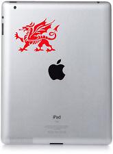 WELSH DRAGON STICKER DECAL , Ipad, Tablet, Laptop, car, bike,