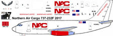 Northern Air Cargo Boeing 737-200 freighter decals for Airfix 1/144 kit