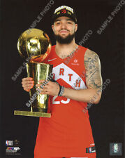Fred VanVleet Raptors Final NBA Trophy 2019 NBA Finals Champions 8x10 Photo