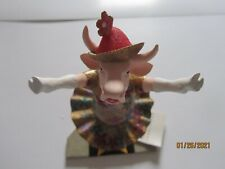 DANCING DIVA #9132 COW PARADE RARE 2001 WESTLAND GIFTWARE RETIRED EXC. COND.