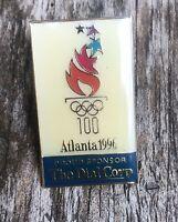 OLYMPIC PIN - Atlanta 1996 - The Dial Corp Proud Sponsor - Pinback Lapel Pin
