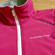 Mountain Horse Kids Mustang Softshell Jr Jacket Raincoats Rain Waterproof Riding