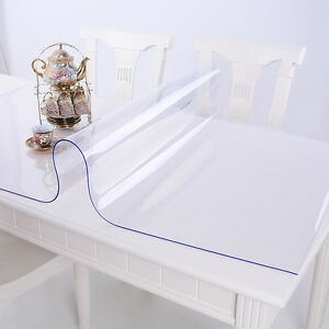 Tischdecke Tischfolie Schutzfolie Tischschutz Folie transparent 2.2 mm 1A Qual.