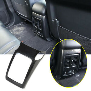 For Dodge Durango 2011-21 Carbon Fiber Interior Rear Air Vent Outlet Cover Trim