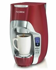 Hamilton Beach 49994 FlexBrew Programmable Single-Serve Coffee Maker - Red