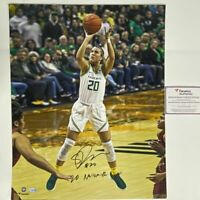 Autographed/Signed SABRINA IONESCU 20 Naismith Oregon 16x20 Photo Fanatics COA