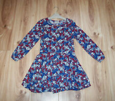 NEW GIRLS NEXT PLAYSUIT DRESS AGE 4, Next  Navy red floral Long sleeve Outfit