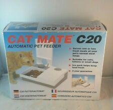 CAT MATE C20 AUTOMATIC PET FEEDER FOR CATS KITTEN PUPPIES SMALL DOG PETS