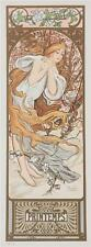 Mucha Foundation Seasons Printemps 1897 Limited Edition Lithograph S2 Art