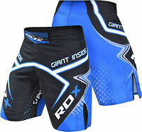 RDX MMA Shorts Grappling Kick Boxing Mens Muay Thai Cage Fight Trunks R7U