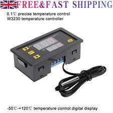 Digital Temperature Controller Thermostat Regulator + Probe Cable 12V/110-220V