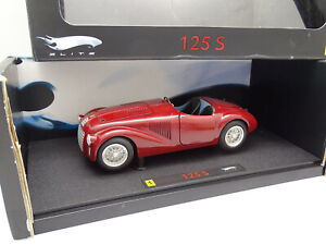 Hot Wheels Elite 1/18 - Ferrari 125 S Rouge