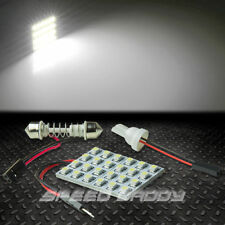 T10 24 SMD 24SMD 3528 CAR/TRUCK WHITE LED INTERIOR DOME/MAP 12V LIGHT BULB/PANEL