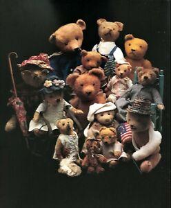 Vintage Antique Teddy Bear Poster
