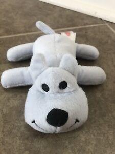 Melissa and Doug Blue Puppy Dog Plush Stuffed Animal Heart Small Mini