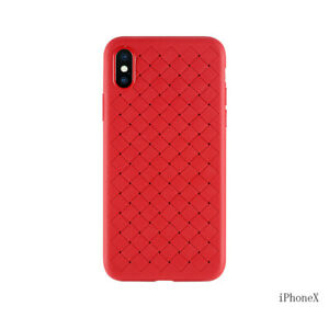 Woven Texture iPhone TPU Cover for iPhone X / XS / XR / XS Max