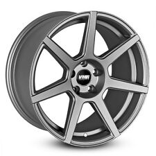 19x9.5 VMR Rims V706 CUSTOM ET25 Matte Gunmetal Wheels (Set of 4)