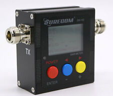 SURECOM SW-102 VHF UHF 126-525Mhz Digital Power & SWR Meter 120W N connector